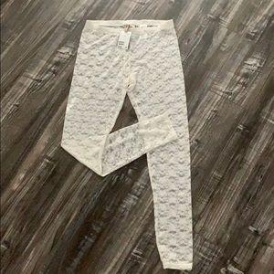 Brand new lace leggings